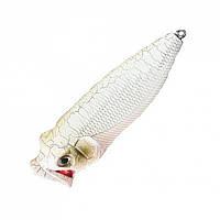 Воблер Nomura Bubble Popper 55мм 6гр. цвет-030 (GHOST)
