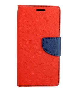 Чехол книжка для Xiaomi Redmi 4 Prime / Redmi 4 Pro боковой с отсеком для визиток, MERCURY GOOSPERY, Красный