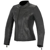 Мотокуртка женская ALPINESTARS Shelley кожа черный XS
