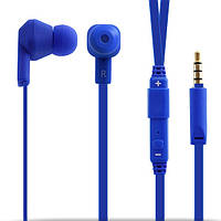 Гарнитура Crown CMEP-704 Blue, Mini jack (3.5 мм), вакуумные, кабель 1.2 м