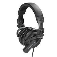 Гарнитура SVEN HM 80 BK наушники с микрофоном (кожаные)