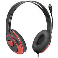 Наушники Defender HN-875 Black-Red