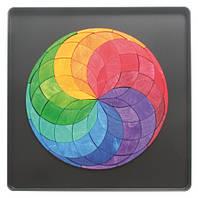 Магнитная мини мозаика Grimm's Цветная спираль