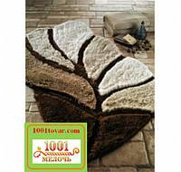 """Набор ковриков из 3-х штук """"Confetti"""" в ванную 100х60 см., туалет 50х60 см. с вырезом и 50х60 см. БЕЗ выреза"""