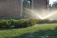 Автоматическая система полива газона (спринклер для автополива)