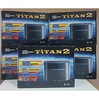Игровая приставка Денди 8 бит Sega Mega Drive 2 16 Bit Dendy 8 Bit со встроенными 400 играми Титан 2 Магистр
