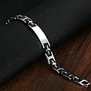 Браслет мужской сталь и каучук, фото 4