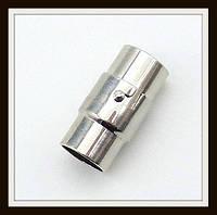 Замок магнитный с фиксатором сталь (диам. 8 мм)