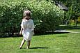 """Комплект шифоновых пончо """"Шарм"""", взрослое и детское,  розовый, фото 5"""