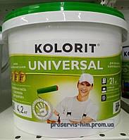 Моющаяся краска Колорит Универсал (UNIVERSAL) 4,2кг 3л