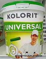 Моющаяся краска Колорит Универсал (UNIVERSAL) 1,4кг 1л