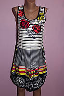 Туника-платье трикотажное