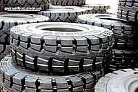 Цельнолитые шины 28х9х15 для погрузчиков