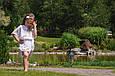 """Комплект шифоновых пончо """"Шарм"""", взрослое и детское, белый, фото 4"""
