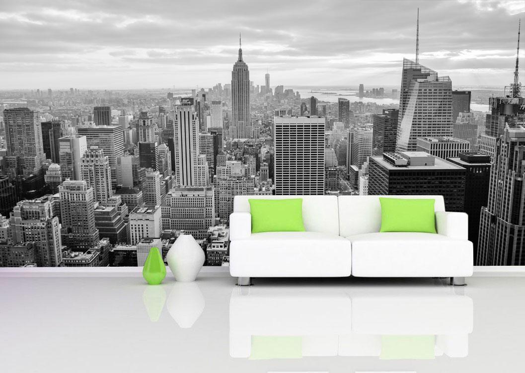 Фотообои виниловые панорама Нью-Йорка - РА Витрина в Черкассах