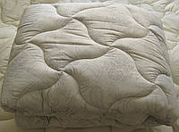 Одеяло двуспальное лебяжий пух 180*210 хлопок (3272) TM KRISPOL Україна