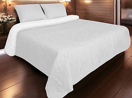 Покрывало для кровати 240х180  Vintage белое