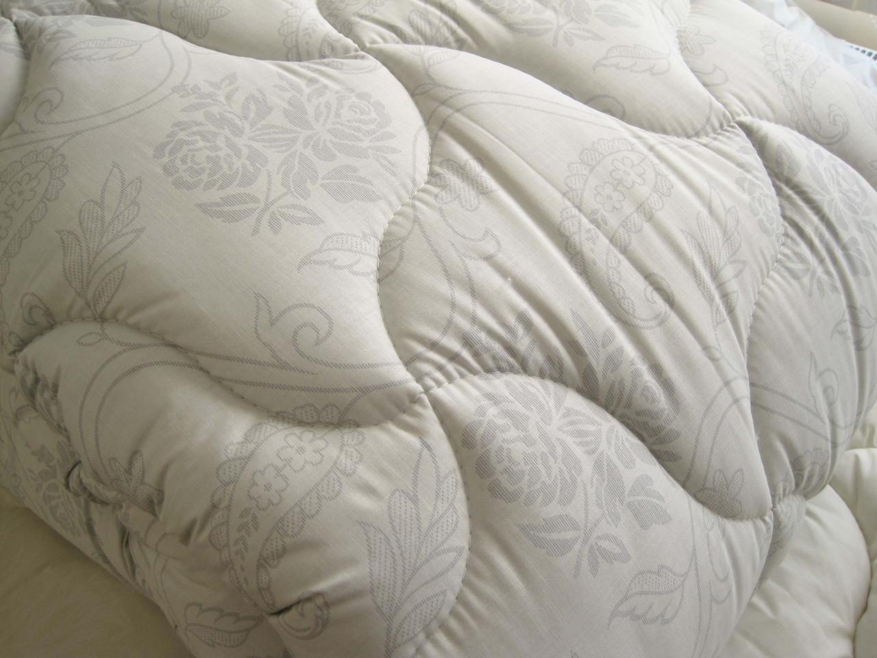Одеяло двуспальное евро холлофайбер хлопок 200*210 (4416) TM KRISPOL Украина