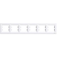 Рамка 6-я белая горизонтальная EPH5800621