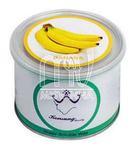 Воск баночный Konsung Beauty, 500 г банан