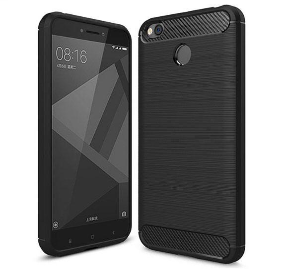 Протиударний бампер Primo Carbon Fiber Series для Xiaomi Redmi 4X - Black