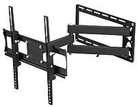 """Настенное крепление для телевизора 26-47"""" Walfix R-411B Black, VESA 400x400, до 50 кг"""