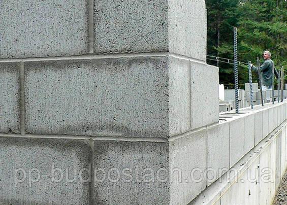Однослойные стены из ячеистого бетона