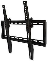 "Настенное крепление для телевизора 26-55"" Walfix S-124B Black, VESA 400x400, до 35 кг, наклон 12°, отступ от стены 37 мм"