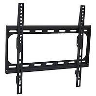 """Настенное крепление для телевизора 26-55"""" Walfix S-223B Black, VESA 400x400, до 40 кг, отступ от стены 25 мм"""