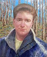 """Картина на холсте """"Весной в лесу"""""""