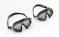 Очки (полумаска) для плавания X-SIGHT 2 (поликарбонат, TPR, силикон, цвета в ассортименте)