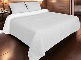Покрывало для кровати 240х220  Vintage белое