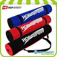 Коврик для фитнеса, аэробики неопреновый «HOP-SPORT DK2256» 1800x610x6мм