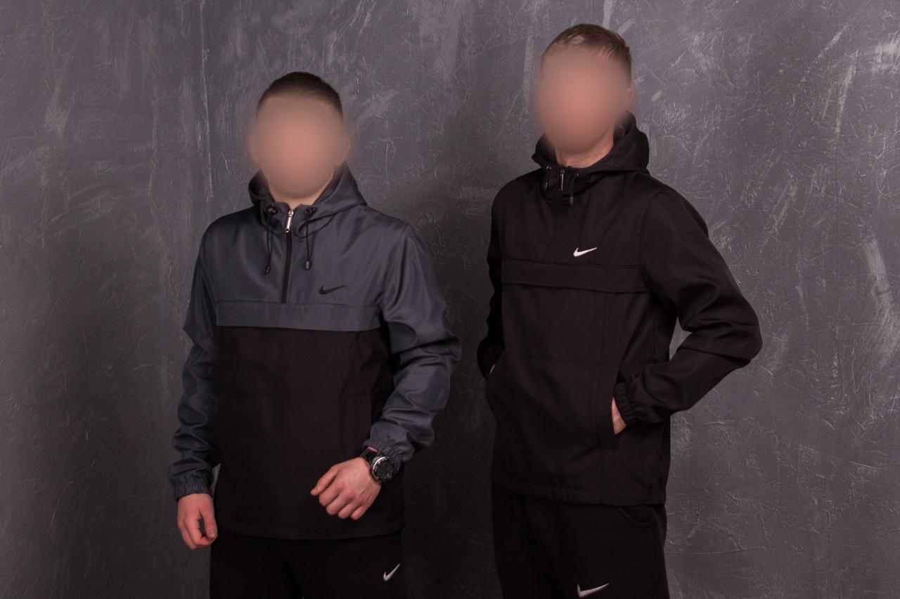 Анорак Nike (Найк) на подкладке, фото 1