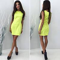 Желтое платье из котона - мемори НН!