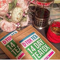 Травяные чаи detox tea 14 дней