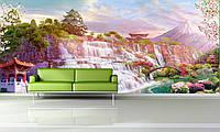 Фотообои виниловые на флизелиновой основе восточный пейзаж