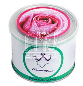 Воск баночный Konsung Beauty, 500 г roze