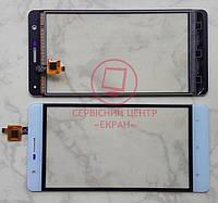 Oukitel K4000 Lite тачскрін сенсор білий оригінальний