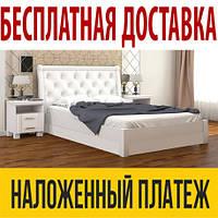 Кровать МИЛЕНА с подъемным механизмом, с мягким изголовьем, деревянная кровать из сосны, Da-Kas (Да-Кас)