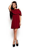 Жіноче повсякденне плаття марсала Remy