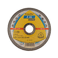 Круг отрезной для металла Extra Kronenflex 125х1,6х22,23 А 46 1/25