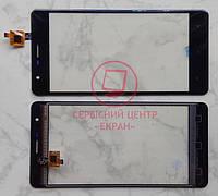 Oukitel K4000 Lite тачскрін сенсор чорний оригінальний