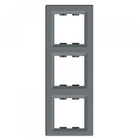 Рамка 3-я сталь вертикальная EPH5810362