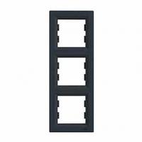 Рамка 3-я антрацит вертикальная EPH5810371