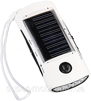 T001 - Солнечное зарядное устройство + радио + LED-фонарик, фото 1