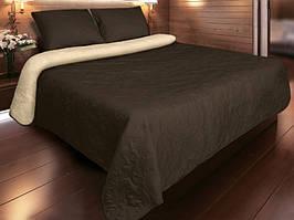 Покрывало для кровати 220х260 Vintage коричневый