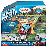 Набор Томас и друзья, Американские горки, Motorized Railway Switchback Swam, Fisher-Price