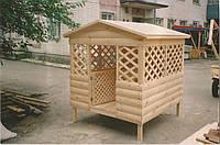 Беседка из блок-хауса  для детской площадки, фото 1