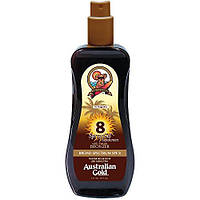 Спрей-гель с бронзатором для загара Australian Gold Spray Gel SPF 8